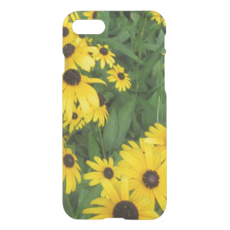 Black Eyed Susans Yellow Green iPhone 7 Case