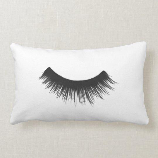 Black Eyelash - Lumbar Pillow