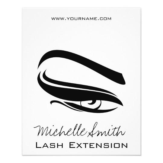 Black Eyeliner lash extension henna make up icon