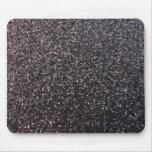 Black faux glitter graphic