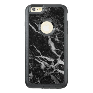 Black Faux Marble Print Modern Design GR5 OtterBox iPhone 6/6s Plus Case