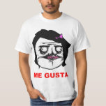 Black Female Me Gusta Comic Rage Face Meme T-shirts
