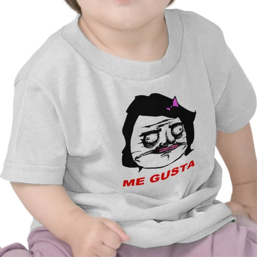 Black Female Me Gusta Comic Rage Face Meme T Shirts