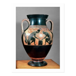 Black-figure amphora depicting Ajax and Achilles, Postcard