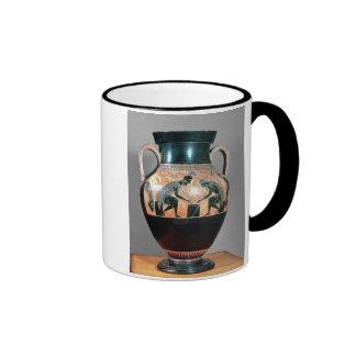 Black-figure amphora depicting Ajax and Achilles, Ringer Mug
