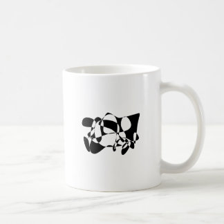 Black Figure Mug