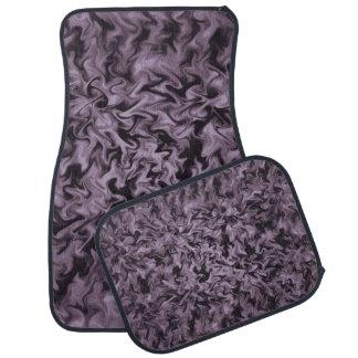 Black Fire Floor Mat
