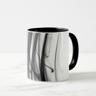 Black Fire III Combo Mug by Artist C.L. Brown