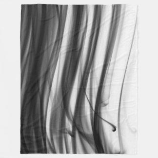 Black Fire III Fleece Blanket by C.L. Brown