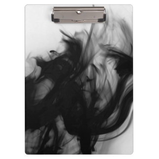 Black Fire IV Clipboard by Artist C.L. Brown