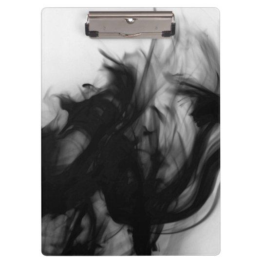Black Fire IV Clipboard by Artist C.L. Brown
