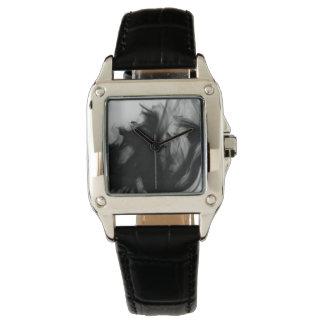 Black Fire IV Women's Black Leather Watch