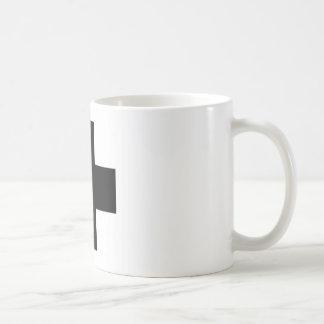 Black First aid cross Coffee Mugs