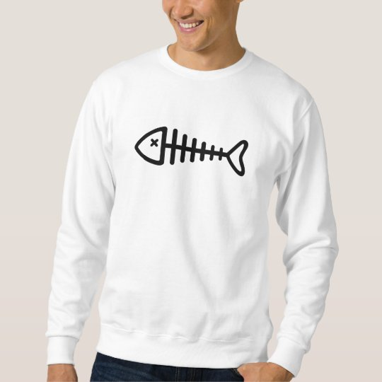 Black fishbone sweatshirt