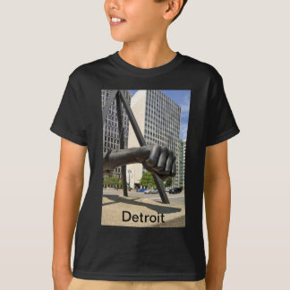 Black Fist Detroit T-Shirt