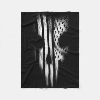 Black Flag Fleece Blanket