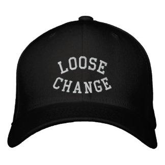Black flex fit hat embroidered hats