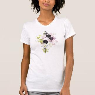 Black flowers Shirt
