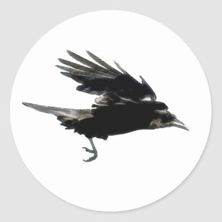 BLACK FLYING CROW Sticker Series
