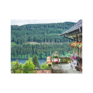 Black Forest, Germany Stretched Canvas Print