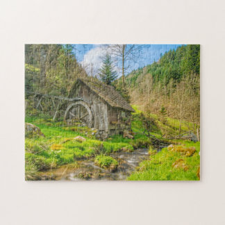 Black Forest Mill Jigsaw Puzzle