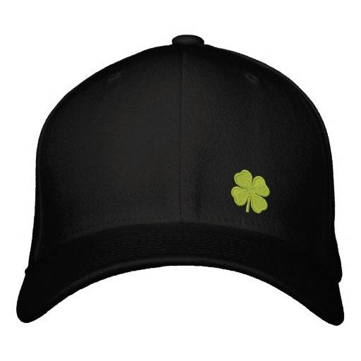 Black Four Leaf Clover St. Patrick - CUSTOMIZABLE