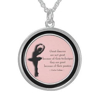 Black frame Pink Dance Motivational Locket