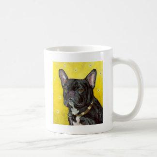 Black French Bulldog Mugs
