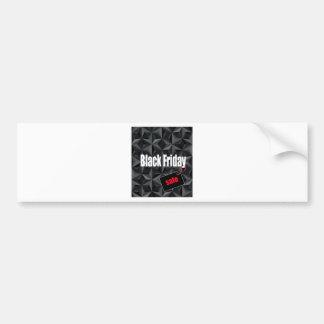 Black Friday Bumper Sticker
