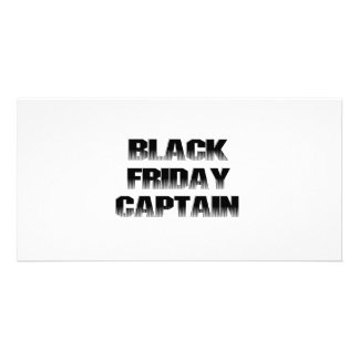 BLACK FRIDAY CAPTAIN PHOTO CARD