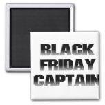Black Friday Captain Square Magnet