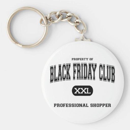 Black Friday Club Professional Shopper Key Chains