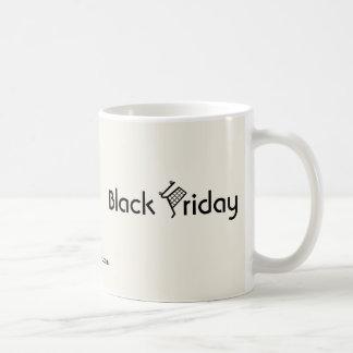 Black Friday Basic White Mug