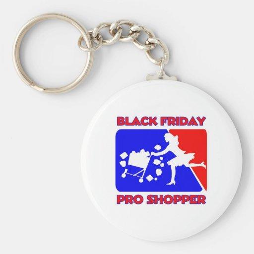 Black Friday Pro Shopper Keychains