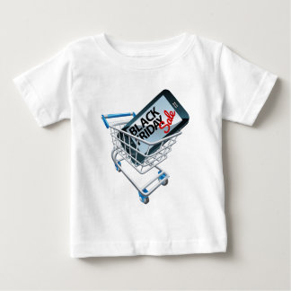 Black Friday Sale Phone Trolley Sign Baby T-Shirt