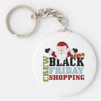 Black Friday Shopping  Crew Basic Round Button Key Ring
