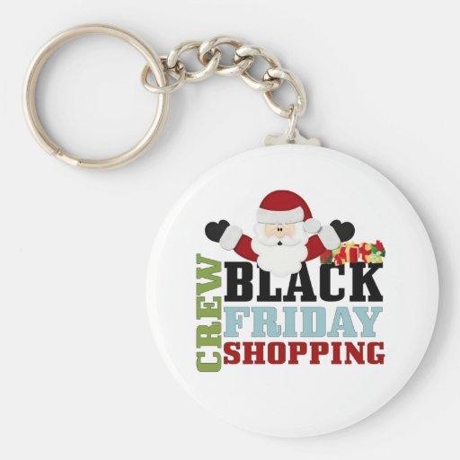 Black Friday Shopping  Crew Keychain
