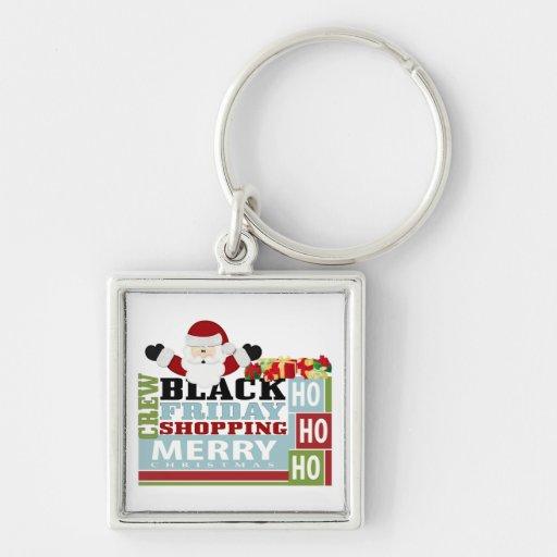 Black Friday Shopping Crew Keychains