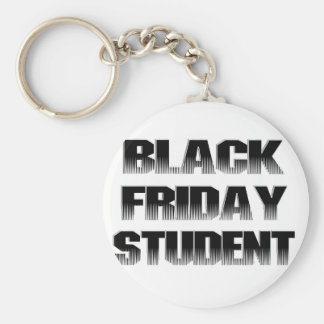 Black Friday Student Key Chain