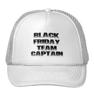 BLACK FRIDAY TEAM CAPTAIN CAP