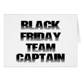 Black Friday Team Captain Card