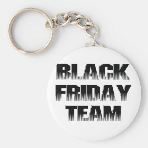 Black Friday Team Key Chain