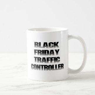 Black Friday Traffic Controller Basic White Mug