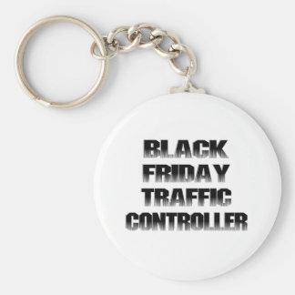Black Friday Traffic Controller Key Chains