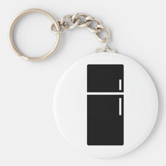 black fridge refrigerator icon key ring
