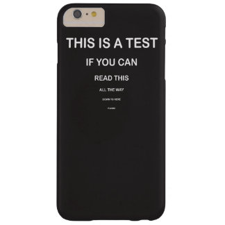 Black funny iphone case