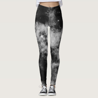 Black galaxy leggings