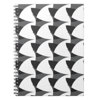 Black Geometric Notebook