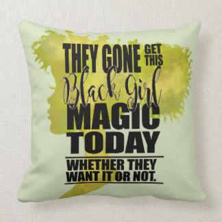 Black Girl Magic Affirmation Cushion