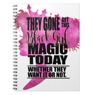 Black Girl Magic Affirmation Notebooks